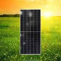 广东晶天太阳能板450W单晶硅半片层压太阳能电池板光伏发电