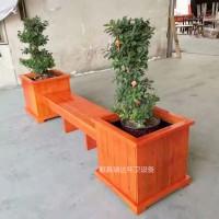 供应献县瑞达广场庭院种植花槽道路座椅组合花箱