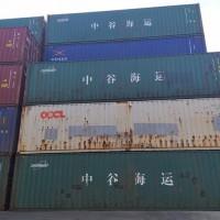 天津二手集装箱 全新集装箱 海运箱批量买卖