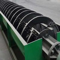 厂家定制螺旋洗沙设备 可移动螺旋洗砂机河南螺旋式洗砂机多少钱