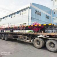 15吨骨架式13米长平板拖车