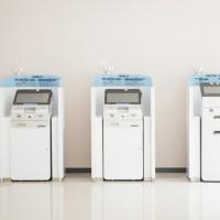 银行家具源头厂家 烤漆ATM机罩柜银行自助查询服务柜美格利生