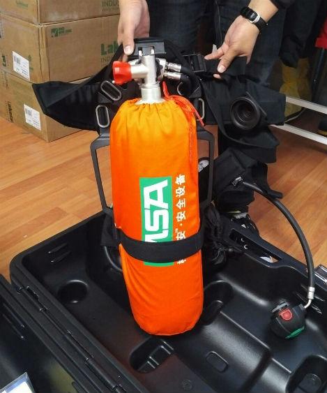 梅思安6.8L工业型AX2100正压空气呼吸器