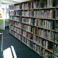 佛山学校家具厂家 图书馆双面钢制书架 美格利生