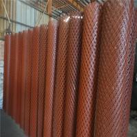 过滤菱形钢板网 脚手架重型钢板网脚踏钢笆片 钢板拉伸扩张网