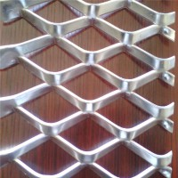 钢板网片定制 建筑菱形网 幕墙装饰吊顶钢板网