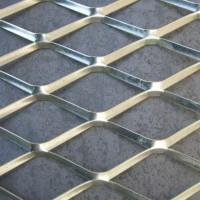 加工定做菱形装饰网 小型钢板网 钢板拉伸金属网