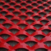 工厂直销金属扩张孔网 菱形网孔网片 轧平状钢板网