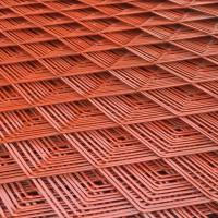 金属压平拉伸钢板网 建筑钢板网 钢笆网