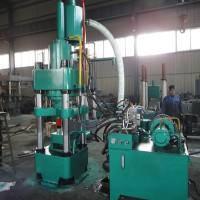 鑫源牌全自动铁剂锰剂粉末成型液压机设备完善成本低效率高l