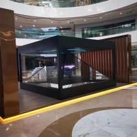 做全息舞台互动 数字展厅 360全息展柜 幻影成像的
