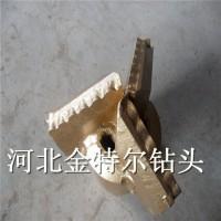 软地层用合金三翼刮刀 215.9mm复合片刮刀 厂家定做尺寸