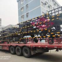 4吨机场用骨架式平板拖挂车
