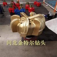 新疆克拉玛依石油勘探复合片钻头 八寸半五刀翼PDC钻头