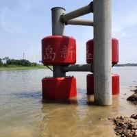 青岛新盛生产筒型多级缓冲自浮式FRP桥墩防撞圈