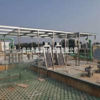 不锈钢骨架+钢化玻璃/PC耐力板 污泥脱水机密封罩