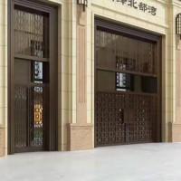 西安铜门价格铜门安装