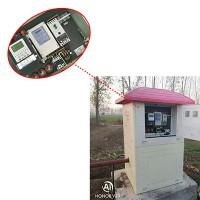 厂家定制 模压式玻璃钢井房 灌溉控制智能井堡 玻璃钢智能井房