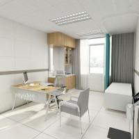 医疗办公家具生产厂家医生诊室诊桌椅办公桌美格利生