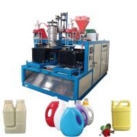 河南郑州洗衣液桶 碳粉盒各种塑料中空壶吹塑机吹瓶机