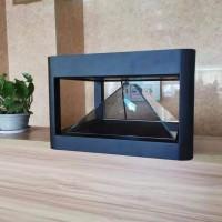 全息展柜 互动滑轨屏幕  透明橱窗