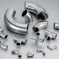 不锈钢四通 不锈钢三通 翻边大小头万信生产