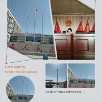 金华婺城区户外旗杆9米16米注水旗杆