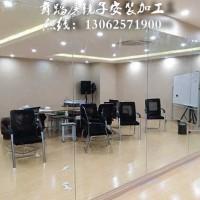 南京舞蹈房镜子安装 南京健身房镜子安装