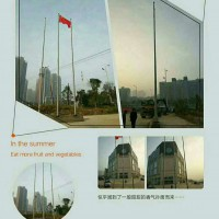 上海静安高配置旗杆上海手摇旗杆风动旗杆