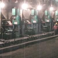 沧州全自动海绵铁高密压块机海绵铁生产线鑫源可生产多种规格l