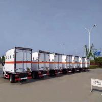 青岛至东营危险品运输车队