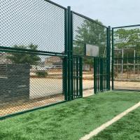 杭州体育围栏网 球场围网 运动场围网源头工厂