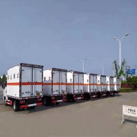 青岛至南京危险品运输车队