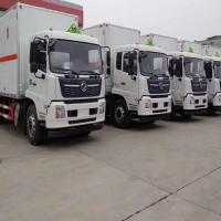 青岛至淄博危险品运输车队