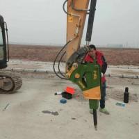 双鸭山YSW-6连港工兵破碎锤 箱式静音破碎锤需提前定制