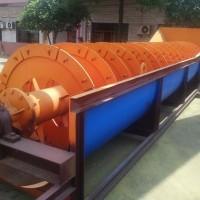 现货供应螺旋分级洗石机 选矿设备螺旋分级机 高堰式螺旋洗沙机