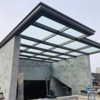 钢结构雨棚的报价与结构设计