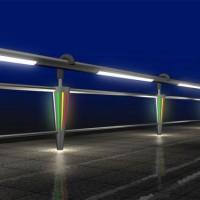 陕西灯光护栏厂家-灯光护栏价格-灯光护栏定制
