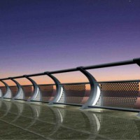 陕西河道护栏厂家-河道护栏定制-河道栏杆价格