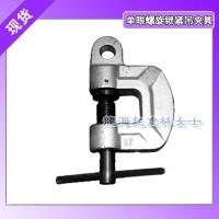 龙升螺旋锁紧钢板吊钳可对钢板进行垂直吊横向吊横牵拉等操作