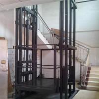 济南鑫赛力导轨液压式货梯升降平台货梯提升机
