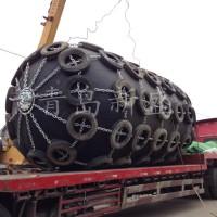 新盛高品质船用实心护舷 充气护舷 橡胶防碰垫