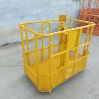 工程高空施工安全吊篮 供应吊车吊篮 360度旋转吊篮