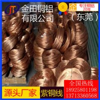 t5紫铜线0.1mm-t5耐冲压紫铜线,t6大直径紫铜线