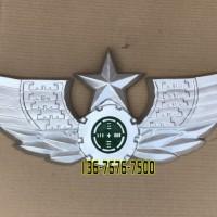 新款陆军徽定做铸铝立体大型挂徽制作翅膀军徽