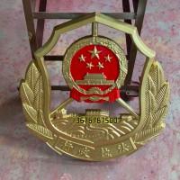 新款交通行政执法徽定做铸铝大型徽章行政执法标志制作销售