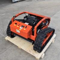 油电两用全自动草坪修整机 四驱轮式割草机 堤坡开荒除草机