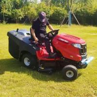 全自动汽油座驾割草机 高尔夫球场草坪修剪车 剪草拖拉机