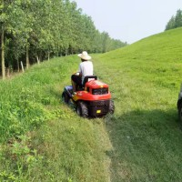 科勒25马力后排草座驾割草机 高尔夫球场草坪修剪除草机