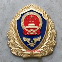 大型消防救援队徽生产销售 铸铝立体徽标消防救援徽定做